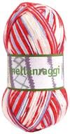 Mellanraggi Garn Ullmix 100g VM Print (28342)
