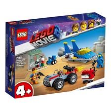 """Emmet och Bennys """"Bygg och fixa""""-verkstad!, LEGO Movie 2 (70821)"""