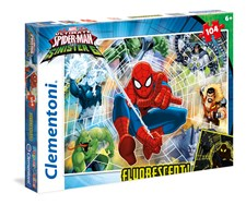 Pussel SuperColor Spiderman, 104 bitar, Clementoni