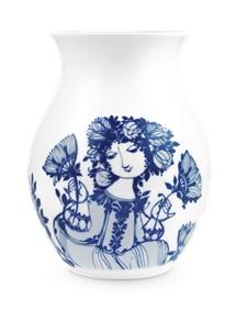 Vase, Amelia, H 21 cm, Blå, Bjørn Wiinblad