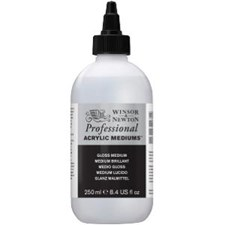 Professional Akryl Medium Gloss Winsor & Newton 250 ml