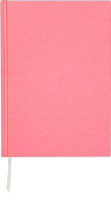 Muistikirja Burde Pellavatekstiili A4 Vaaleanpunainen