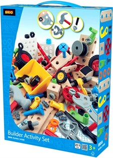 Builder Activity Set, 211 osaa, BRIO Builder