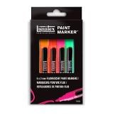 Liquitex Paint Marker Fine 6 setti Fluo Kapea