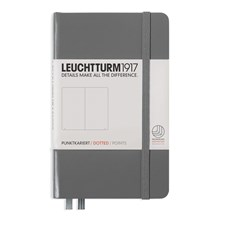 LT NOTEBOOK A6 Hard anthracite 185 p. dotted