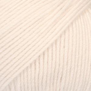 Drops Baby Merino Uni Colour Garn Ullgarn 50g Powder 44