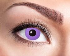 Färgade linser Purple Gothic
