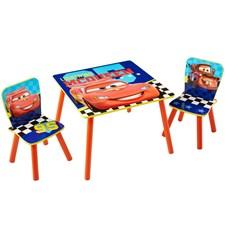 Möbelset, Bord & 2 stolar, Cars