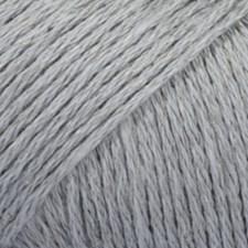 Bomull- Lin Drops design Garn 50 g gråblå 20