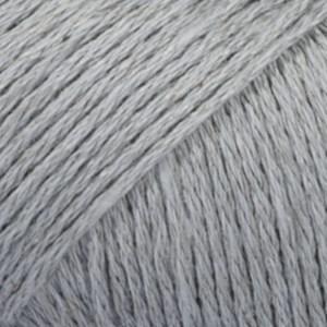Drops Bomull- Lin Garn 50 g gråblå 20