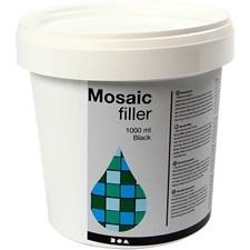 Mosaiikkimassa, 1000 ml, musta