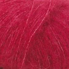 Brushed Alpaca Silk Drops design 25 g red 07