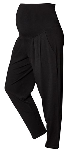 Boob Once-On-Never-Off Loose Pants, Black Strl XS