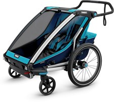 Thule Chariot Cross2 Cykelvagn, Blue