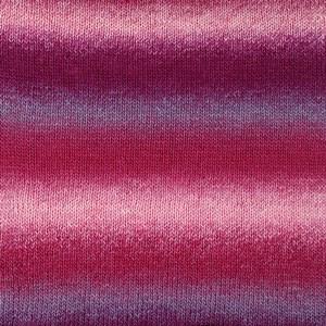 Drops Delight Print Lanka Villasekoitus 50g Pink/Purple 06