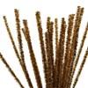 Piperensere, tykkelse 6 mm, L: 30 cm, 24 stk., gull