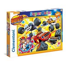 Pussel SuperColor Blaze, 104 bitar, Clementoni