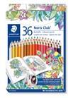 Fargeblyanter STAEDTLER Noris Club®, 36 stk