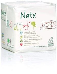 Ekologiska Bindor Extra Natt Plus, 10 st, Naty