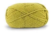 Knit At Home Nordic Wool Garn Ullgarn 100 g Limegrön 715
