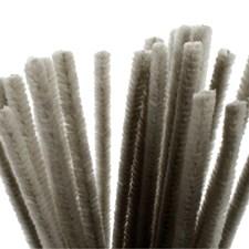 Piperensere, tykkelse 9 mm, L: 30 cm, 25 stk., grå