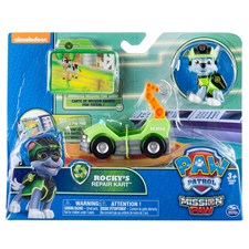 Rocky's Repair Cart, Minifordon med figur, Mission Paw, Paw Patrol
