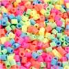 Rørperler, str. 5x5 mm, hullstr. 2,5 mm, 6000 ass., pastellfarger