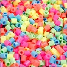 Rörpärlor 5x5 mm 6000 st Pastellfärger