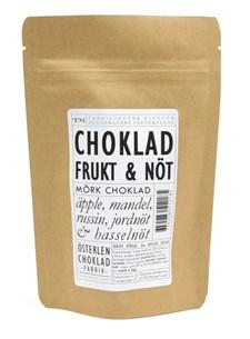Österlenchoklad Mörka Chokladrutor Frukt & Nöt