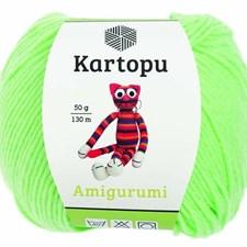Kartopu Amigurumi 50g Neon Green K1437