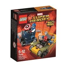 Captain America mot Red Skull, Mäktiga mikromodeller, LEGO Super Heroes (76065)