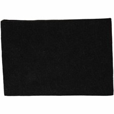 Askarteluhuopa, A4 21x30 cm, paksuus 1,5-2 mm, 10 ark, musta