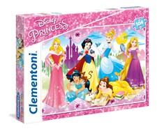 Pussel SuperColor Disney Princess, 104 bitar, Clementoni