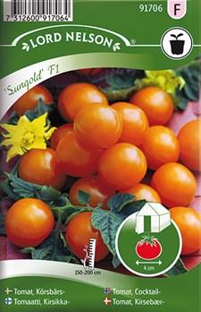 Tomat, Körsb.-, Sungold F1