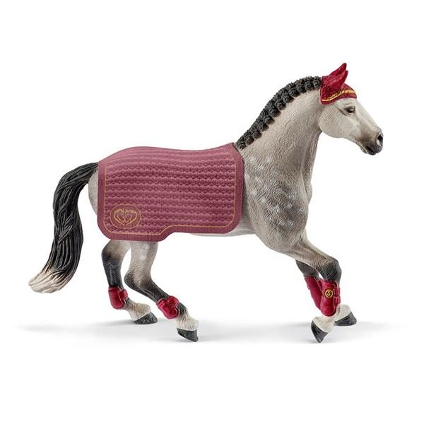 Schleich Trakehner Mare Riding - figurer & miniatyrer