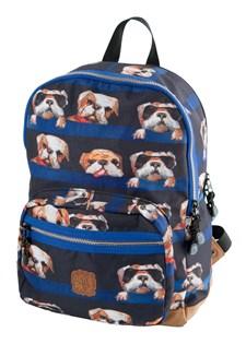 Ryggsäck Dogs, Blå, Pick & Pack