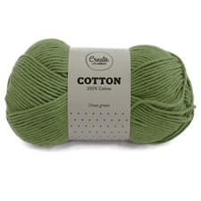 Adlibris Cotton lanka 100g Grass Green A093