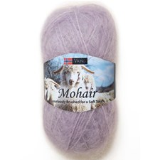 Viking of Norway Mohair 50 gr Lys lilla 368