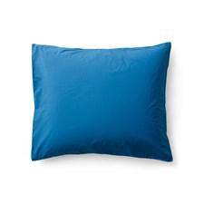 Sköna Hem Örngott i Tvättad Bomullspercale 50x60 cm Blue sapphire