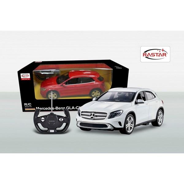 Radiostyrd  Mercedes GL  Röd  Rastar - interaktiva leksaker