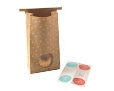 Nordic Ware Natural Bakeware Presentpåsar 6-pack Brun