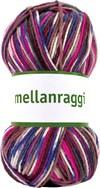Järbo Mellanraggi Garn Ullmix 100g Berry Print (28366)