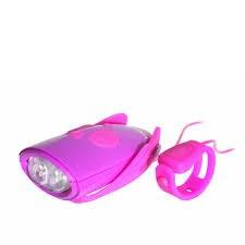 Sykkellampe med lydeffekter, Lila