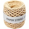 Paperinaru, luonnonrusk., paksuus 1 mm, 50 m/ 1 rll