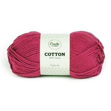 Adlibris Cotton lanka 100g Purple Sky A095