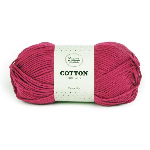 Adlibris Cotton Garn 100g Purple Sky A095
