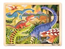 Pussel 24 bitar, Dinosaurier, Melissa & Doug