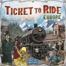 Ticket To Ride, Europe, Sällskapsspel