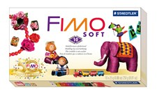 FIMO Soft juhlapakkaus 10 kpl 25 g palaa