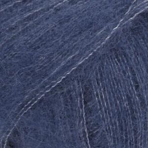 Drops Kid-Silk Uni Colour Garn Ullmix 25g Navy Blue 28